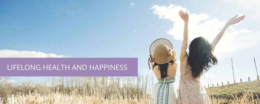 Lifelong Health and Happiness Banner